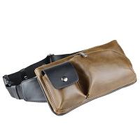男士胸包斜挎包运动小包潮包休闲腰包韩版男包单肩包皮包烟包手机