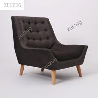 zuczugZUCZUG北欧单人沙发躺椅客厅单椅老虎椅阳台单人沙发布艺我的前半生