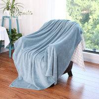 珊瑚绒毯子冬季加厚保暖床单人宿舍学生旅行午睡小被子办公室毛毯
