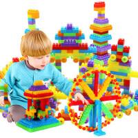 儿童3-6周岁玩具批发大号颗粒塑料拼搭积木早教益智拼装拼插积木