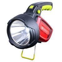 强光手电筒探照灯 手提灯野营灯 可充电远射远程