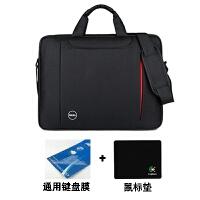 戴尔联想华硕笔记本电脑包141515.6寸单肩商务手提男女式防水包