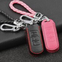 阿特兹汽车钥匙包 真皮女士2017款新马自达3CX-4昂克赛拉钥匙扣套