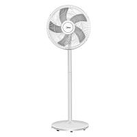 美的 落地扇电风扇家用新品机械式定频 旋钮台式风扇 FS40-18D 白色