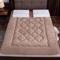 加厚羊羔绒榻榻米床垫1.2米1.51.8m垫被褥子学生宿舍法兰绒床褥垫