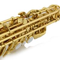 JBSST-400直管高音萨克斯 Bb调降b调萨克斯风乐器 漆金