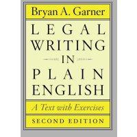 【现货】 英文原版 法律英语通用写作(带练习文本) 第二版 Legal Writing in Plain Englis