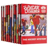 棚车少年71-80册套装 英文原版 The Boxcar Children Mysteries Books 71-80英文版原版书籍 进口英语章节桥梁书 美国经典儿童读物