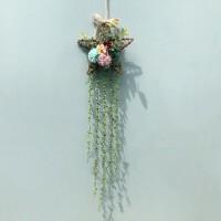 幼儿园环境装饰空中创意吊饰个性树枝相框墙上画框挂件装饰 干树枝