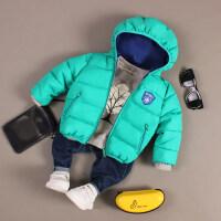 男童冬季连帽外套2儿童棉衣3宝宝棉袄4儿童冬装5小孩6岁韩版