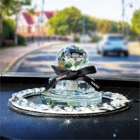 汽车香水座水晶车内饰品摆件汽车用品创意车载香水 座式香水
