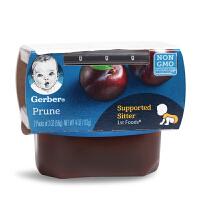 美国嘉宝GERBER 1阶段西梅泥 宝宝辅食泥 婴儿果泥 6个月+