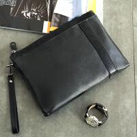 时尚简约男女士手包小包 韩版新款皮质潮男手拿包 2018休闲手腕包