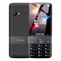 Philips飞利浦 E518全网通4G按键触屏老年手机移动联通电信版4G按键大屏大字大声功能机智能老人机持久待机