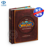 现货魔兽世界立体书 英文原版 The World of Warcraft Pop-Up Book 暴雪Blizzard