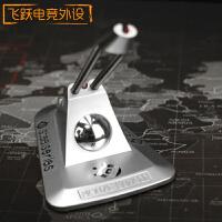 游戏有线鼠标线夹办公竞技鼠标理线固定夹集线器 银色赛睿线夹 120x90mm
