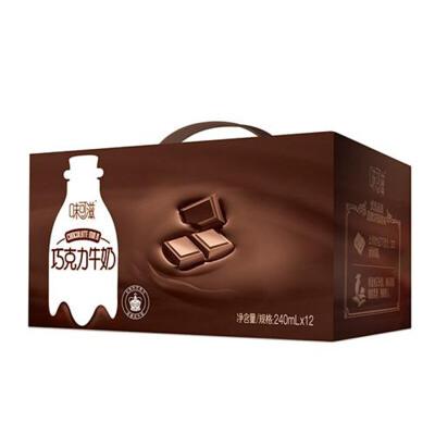 伊利味可滋巧克力牛奶240ml*12