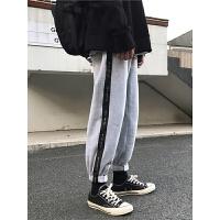 束脚裤子男士休闲裤秋冬季宽松长裤