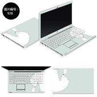 联想G50-80笔记本贴膜贴纸15.6寸Y50-70 Y430P Z50电脑外壳保护膜 SC-928 ABC三面