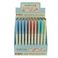 晨光文具 地球万花筒圆珠笔ABP86106可爱原子笔 蓝 0.38 学习用品