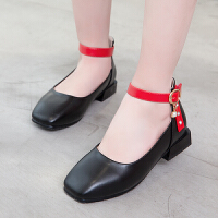 女童鞋子春秋新款童鞋女童皮鞋韩版公主鞋学校演出鞋