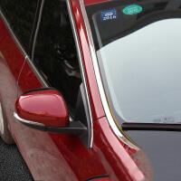 于沃尔沃s60l改装前挡风玻璃装饰贴v60 s60车窗亮条 s60l改装 14-17款 S60L前挡风玻璃饰条 一对装