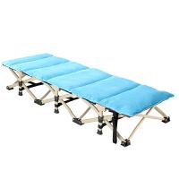 20180517214217320折叠床单人午休床办公室午睡床医院陪护便携静音躺椅简易行军