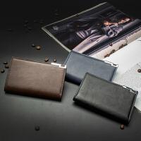 新款韩版男士手拿包 潮流简约中长款钱包 大容量实用多卡位钱夹