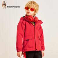 【2件5.5折券后预估价:316.25元】暇步士童装男童风衣冬装新款儿童中大童宝宝工装加绒厚外套