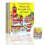 Richard Scarry's Collection 斯凯瑞英文原版儿童绘本(10册套装合辑) 轱辘轱辘转 忙忙碌碌镇