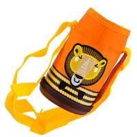 专用带提绳带背带水杯套子可爱儿童保温杯套杯套300-500ML