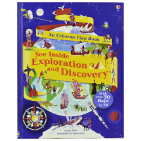 Usborne See Inside Exploration and Discovery 看里面探索与发现 揭秘科普翻
