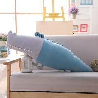 鳄鱼公仔大号毛绒玩具懒人睡觉抱枕卡通枕头可爱布娃娃生日礼物女