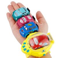 儿童迷你手表遥控小汽车 抖音表带感应玩具车手表同款社会人电动车