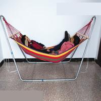 儿童吊床室内秋千床吊椅吊篮户外摇摇椅摇篮吊床支架网床双人秋千