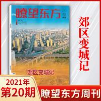 �t望东方周刊杂志2020年第24期总第817期11月26号新刊 非遗百种坚守百花齐放