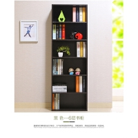 【限时7折】加宽60CM书柜书架木柜子储物柜简易组合小柜子收纳置物柜
