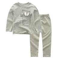 儿童保暖内衣套装纯棉男童秋衣秋裤全棉宝宝女童睡衣家居服两件套