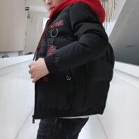 男士外套冬季棉衣修身羽绒棉袄帅气