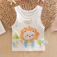 夏季婴儿透气孔背心宝宝背心上衣男女儿童夏季背心婴幼儿背心衣服