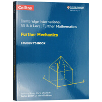 柯林斯剑桥国际进阶力学数学 教材学生用书 英文原版 Collins AS and A Level Further Mat