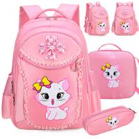 可爱公主4一6二三六年级女童小学生的书包女孩1-3年级女儿童背包