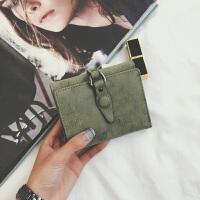 2018新款时尚钱包女短款学生韩版可爱小清新折叠迷你潮个性零钱包