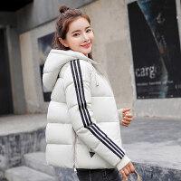 冬季新款羽绒女短款宽松大码韩版休闲面包服学生棉袄外套