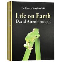 生命的进化 英文原版 Life on Earth 地球上的生命 自然摄影集 BBC纪录片同名图书 英文版进口原版英语书