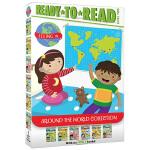 准备阅读系列2阶 走遍世界6册 英文原版 Ready To Read Around the World Level 2