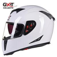 摩托车头盔防雾双镜片夏季男女士全覆式全盔安全帽个性酷四季