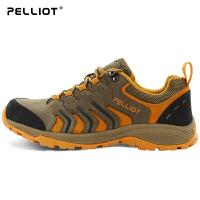 【保暖节-狂欢继续】法国PELLIOT户外登山鞋 男女透气防滑低帮耐磨旅游徒步休闲鞋