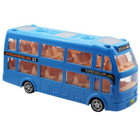 儿童玩具车巴士车 双层巴士 电动公共汽车公交车大客车大巴车模
