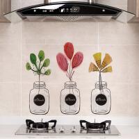 厨房防油耐高温自粘贴纸防水瓷砖墙贴灶台防油烟机贴橱柜防潮贴
